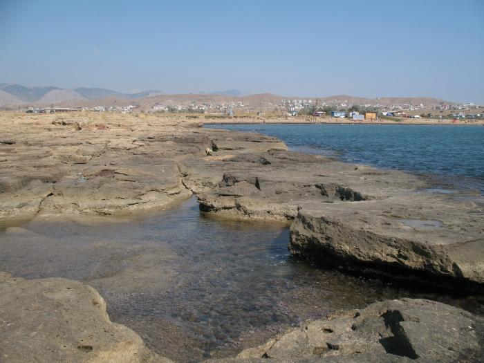 Капсель, Меганом, Черное море, полуостров Крым