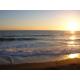 Черное море, Судак, закат, пляж