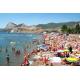 Судак, набережная, городской пляж, Черное море