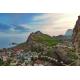 Генуэзская крепость в Судаке, горы, Черное море