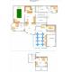 Схема расположения номеров 1-й этаж, Пансионат Московский, Судак, Крым